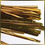 клипса д/упаковки 8см (10шт.) золотая