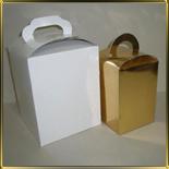 коробка (упаковка) 110*110*160мм золотая