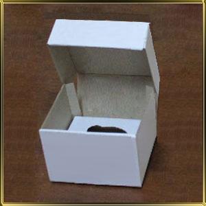 коробка (упаковка) д/капкейка (на  1шт.) белая