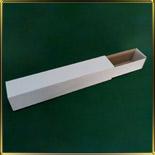 коробка (упаковка) д/макаронс 300*50*50мм белая