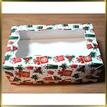 коробка (упаковка) д/капкейка (на  6шт.) Подарок с окошком