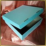 коробка (упаковка) д/торта квадр. 300*300*110мм белая