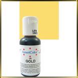 краска гелевая желтая (gold)  21г