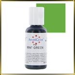 краска гелевая зеленая (mint green)  21г светлая