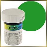 краска густая зеленая 28г (leaf green)