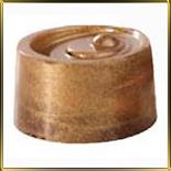 краска-пудра бронза  5г  - кандурин (коричневый янтарь)