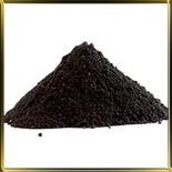 краска черная (уголь растит.)  50г порошковая