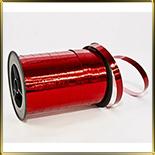 лента фольга 10мм красная