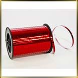 лента фольга  5мм красная