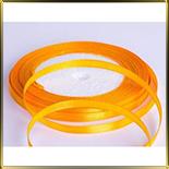 лента атласная оранжевая  5мм