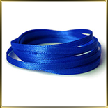 лента атласная синяя  5мм