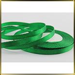 лента атласная зеленая  5мм