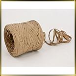 лента рафия коричневая