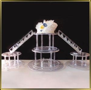 лесенка д/торта Кристалл (3 предмета)