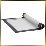 лист силикон. 520*315мм белый с каймой