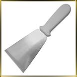 лопатка кухонная 115*135/250мм н/с пласт.руч.