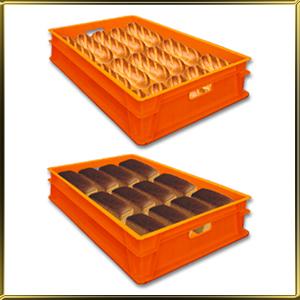 Лотки для хлеба, ящики