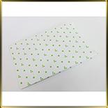 пакет бум. 230*140*45мм белый с зел. звездочками 10шт.