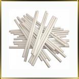 палочки д/конфет (леденцов, кейк-попсов) белые  75мм пласт.
