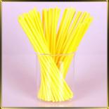 палочки д/конфет (леденцов, кейк-попсов) желтые пласт.