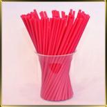 палочки д/конфет (леденцов, кейк-попсов) красные пласт.