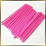палочки д/конфет (леденцов, кейк-попсов) розовые пласт.