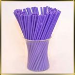 палочки д/конфет (леденцов, кейк-попсов) фиолетовые пласт.