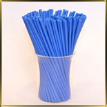 палочки д/конфет (леденцов, кейк-попсов) синие пласт.