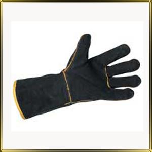 перчатки жаростойкие 350мм (2шт.) черные