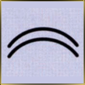 пинцет (щипцы) д/мастики Дуги 15мм н/с
