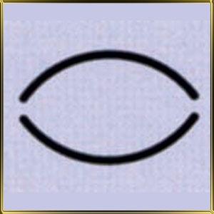 пинцет (щипцы) д/мастики Овал 15мм н/с