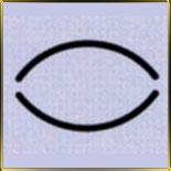 пинцет д/рисунка Овал 15мм н/с