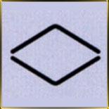 пинцет д/рисунка Ромб 15мм н/с