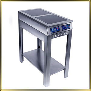 плита индукционная напольная 2конф.*2кВт