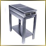 плита индукционная напольная 2конф.*3,0кВт