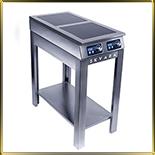 плита индукционная напольная 2конф.*3,5кВт
