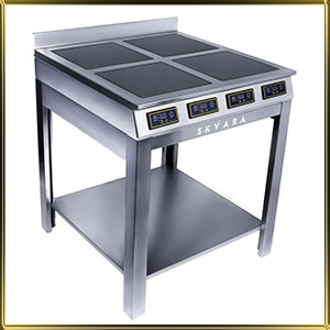 плита индукционная напольная 4конф.*3,0кВт