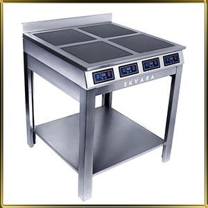 плита индукционная напольная 4конф.*2кВт