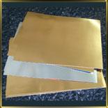 подложка золотая Прямоуг. 150*200мм (10шт.)