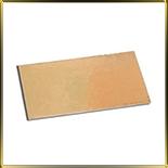 подложка золотая Прямоуг.  50*150мм (10шт.)
