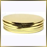подложка Круг утолщенная 400мм золотая
