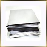 подложка Квадрат утолщенная 350*350мм серебро