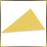 подложка золотая Треугольник 135*95мм (10шт.)