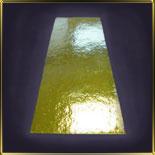 подложка золотая Прямоуг. 100*600мм (10шт.) д/рулета