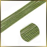 проволочка д/цветов зеленая №24 25см 20шт.
