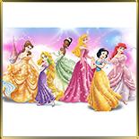 декор  6 принцесс Диснея