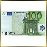 декор   100 Евро 4шт.