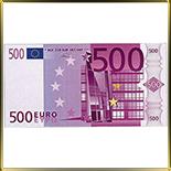 декор   500 Евро 4шт.