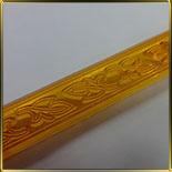 Листья орнамент (1шт.) выемка-штамп пласт.
