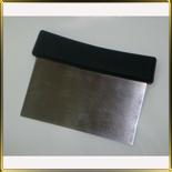 скребок н/с 145*h75мм с черн. ручкой тяжелый